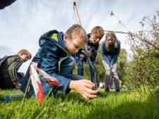 Hoe seksen regenwormen met elkaar? Dat en meer leren de deelnemers van een Wageningse wedstrijd regenwormen vangen