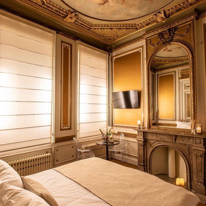 Suite Élégance dans la Maison Noppius, à Liège.