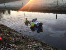 In Beesd te water geraakte automobilist overleden