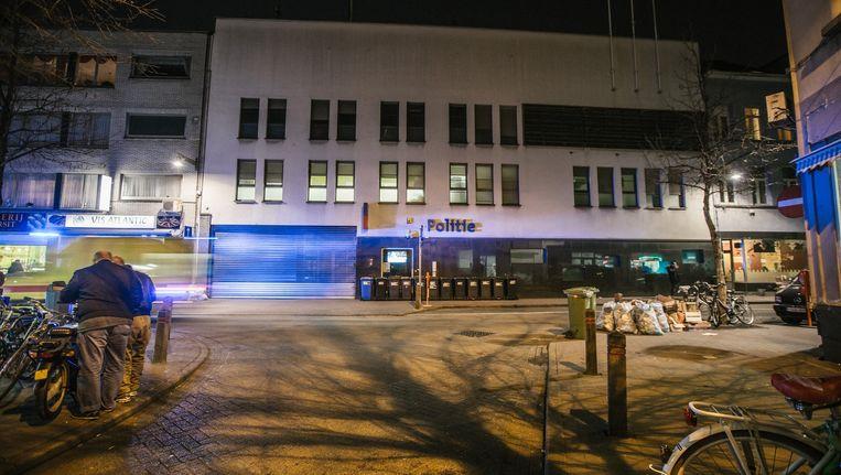 De verdachte agenten waren tewerkgesteld in het kantoor in de Antwerpse Handelsstraat. Beeld Wouter Van Vooren