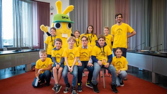 """Nieuwe kinderraad Skwebbelaars komt voor het eerst samen: """"Speelpleinen en verkeersveiligheid gekozen als onderzoekthema's"""""""