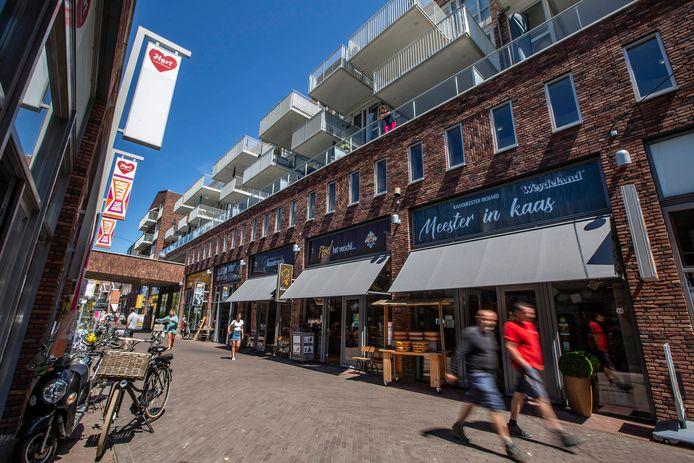 De Graaf Willem II straat in 's-Gravenzande.