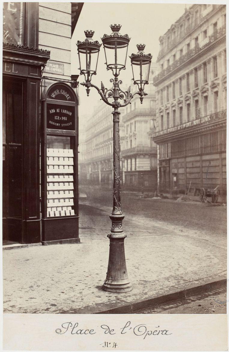 Parijs, 1878.  Beeld Cgarles Marville.