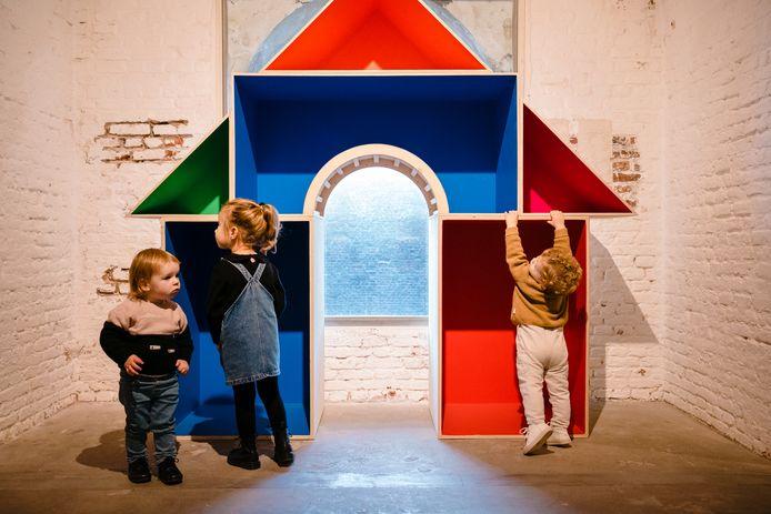 De Tik Tak-expo in Fort Napoleon in Oostende.
