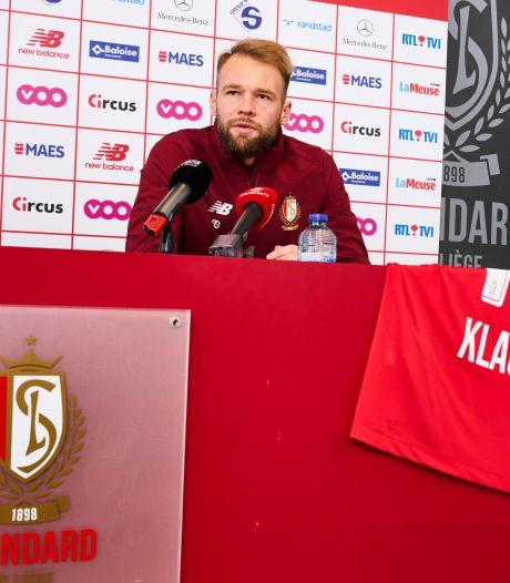 Le nouvel attaquant du Standard de Liège, Joao Klauss, aime la vie en Europe