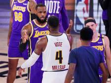 Los Angeles Lakers na tien jaar weer in finale NBA