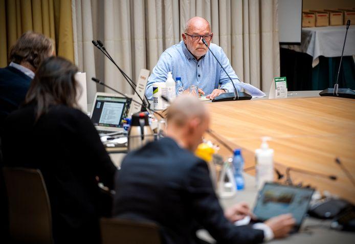 Leen van Esch was een van de 37 recreanten die vorige week hun mening over de geplande verkoop van het Recretieoord gaven op het Rotterdamse stadhuis.
