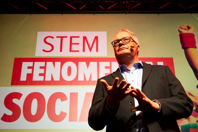 PVDA-voorzitter Peter Mertens.