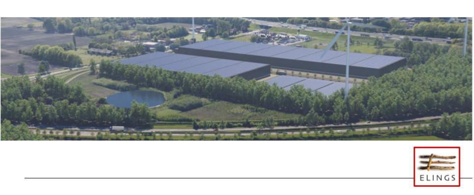 Een impressie van het gebied zoals het eruit komt te zien als de bedrijven Reyrink en Roozen van Hoppe zijn verhuisd.