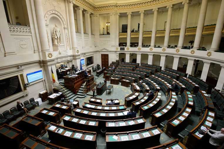 Het federaal parlement. Archiefbeeld. Beeld Photo News
