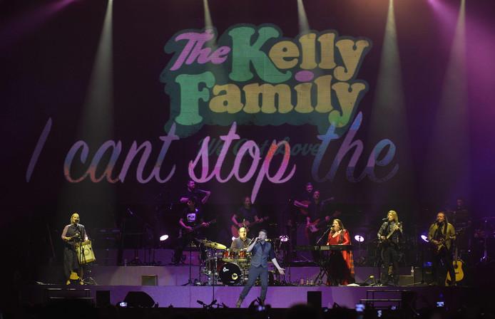 The Kelly Family tijdens een optreden in Wenen.