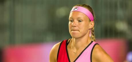 'Zoals het er nu voor staat doet Bertens niet mee aan US Open'
