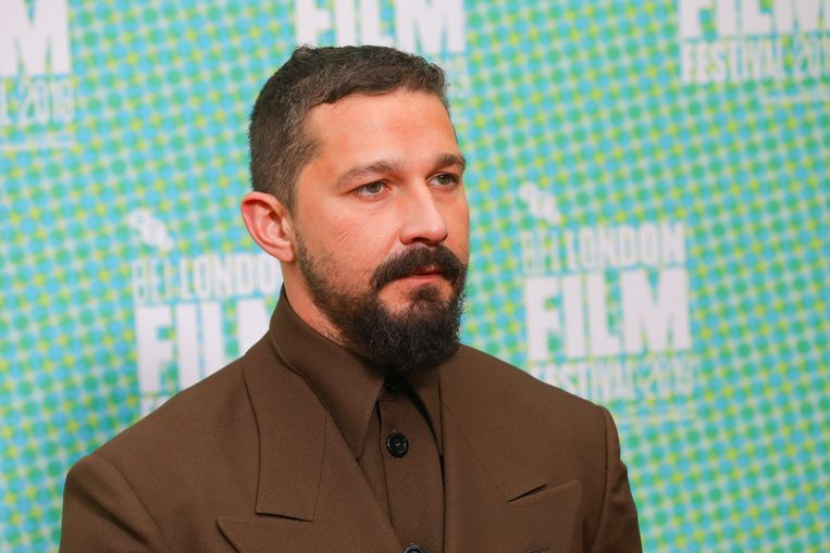 Shia LaBeouf op een filmpremière in 2019. Beeld European Press Agency (EPA)
