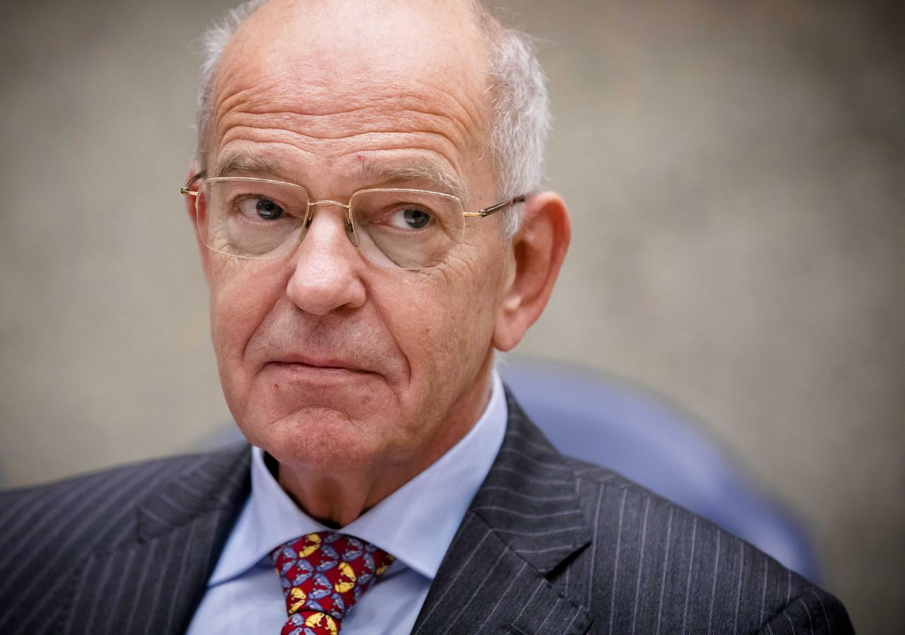 Gerrit Zalm stapt op als commissaris bij Danske Bank.