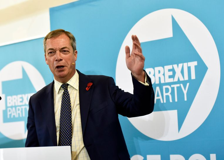 Nigel Farage. Beeld EPA