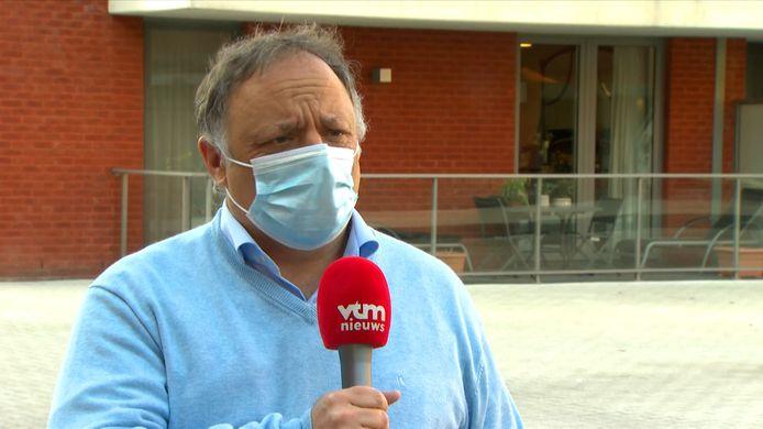 Marc Van Ranst reageert bij VTM NIEUWS