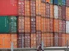 Ergernis over 'muur van zeecontainers' in Bornerbroek