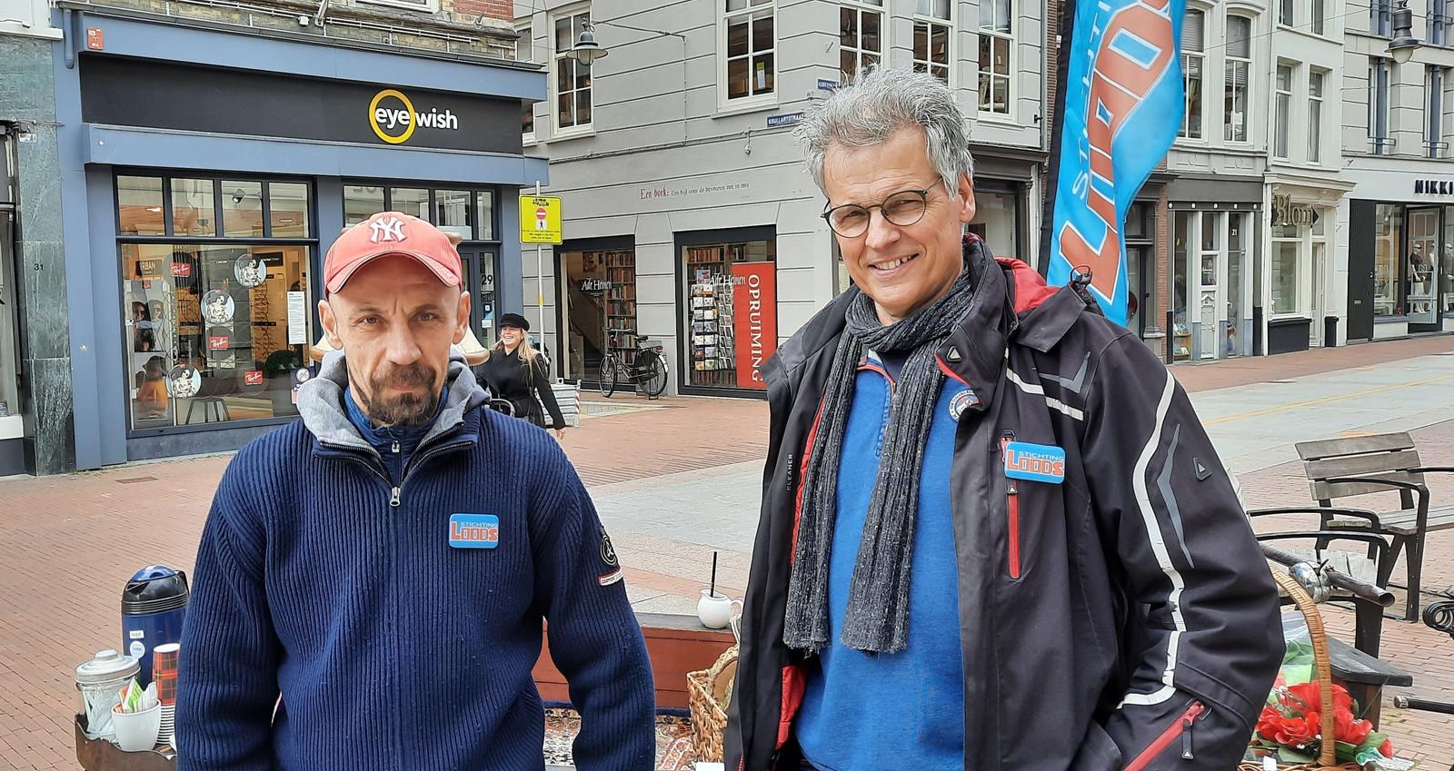 Bernard Lovrinovc (links) en Marcel Wijnen.