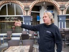 Hans van De Herberg wil grote overkapping voor terras, maar Ommen is (nog) niet overtuigd