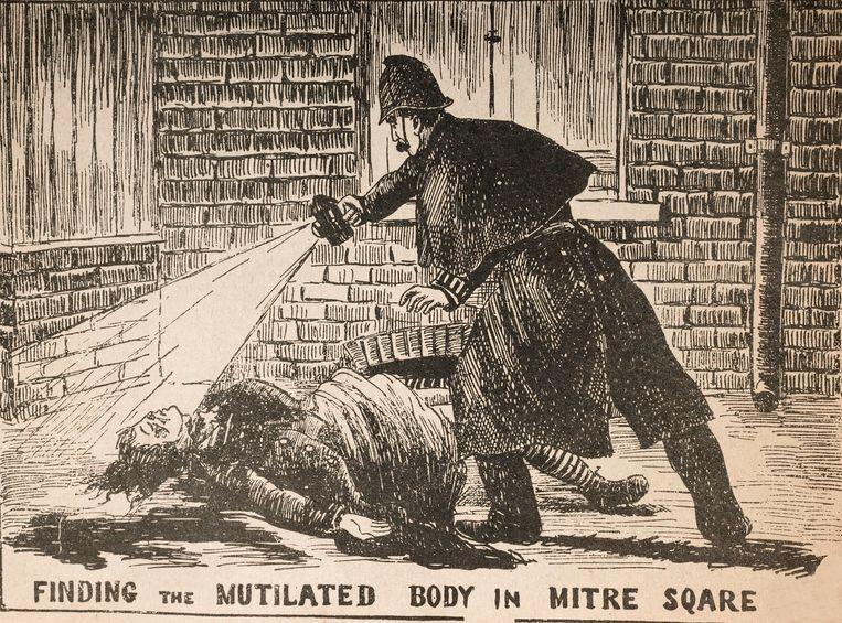 Jack the Ripper vermoordde in 1888 vijf vrouwen in de straten van Londen. Beeld Museum in Docklands