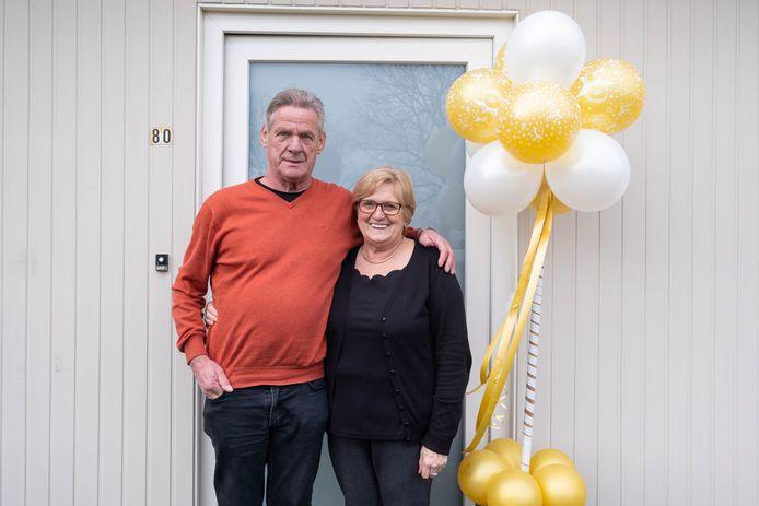 HEIST-OP-DEN-BERG Rita Vonckx en Paul Peeters zijn 50 jaar getrouwd