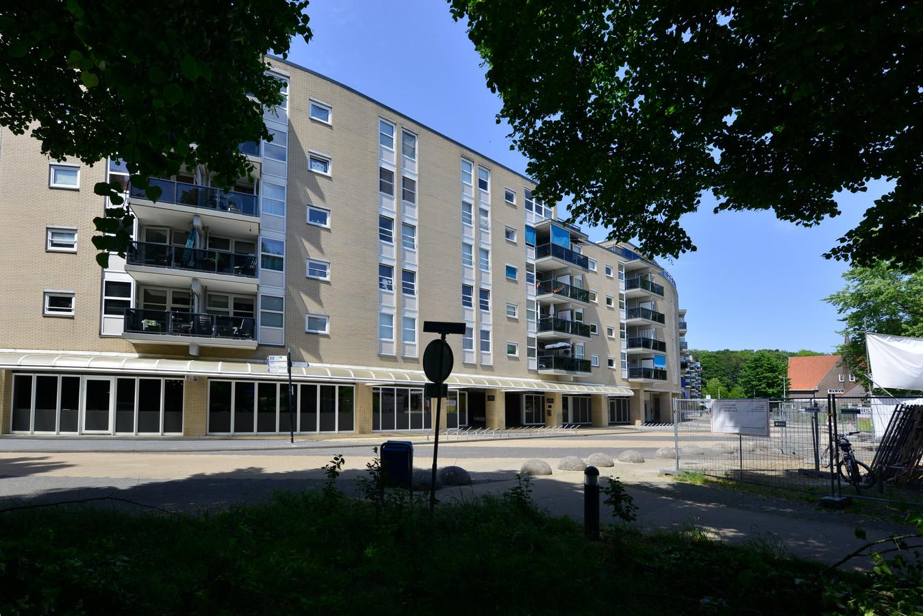Het appartementencomplex De Hagenborgh.