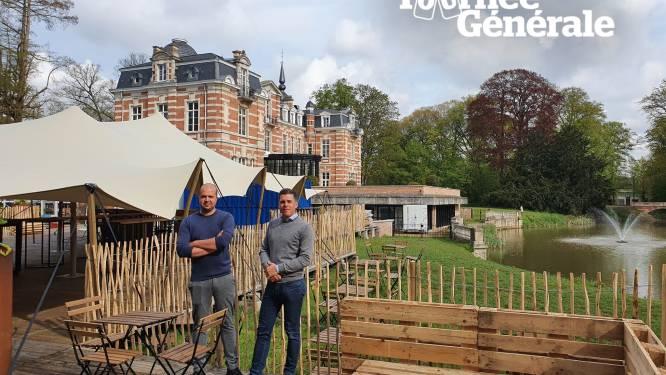 """Chateau Paulette pakt uit met indrukwekkende zomerbar aan Kasteel van Brasschaat: """"Alles coronaproof op prachtige locatie: dit moet gewoon lukken"""""""