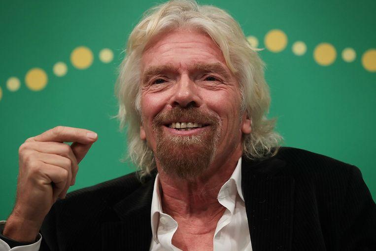 Richard Branson. Beeld afp