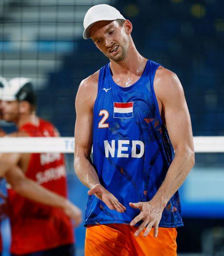 Deceptie beachduo Brouwer en Meeuwsen na eerder brons in Rio: 'Hier niks meer te zoeken'
