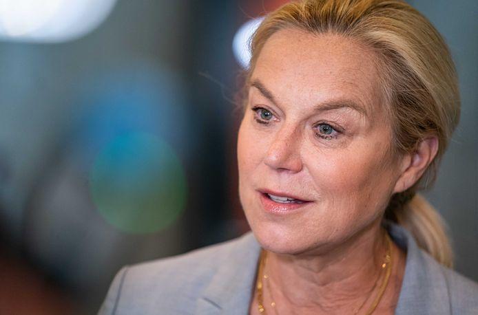 Demissionair minister  van Buitenlandse Zaken Sigrid Kaag.