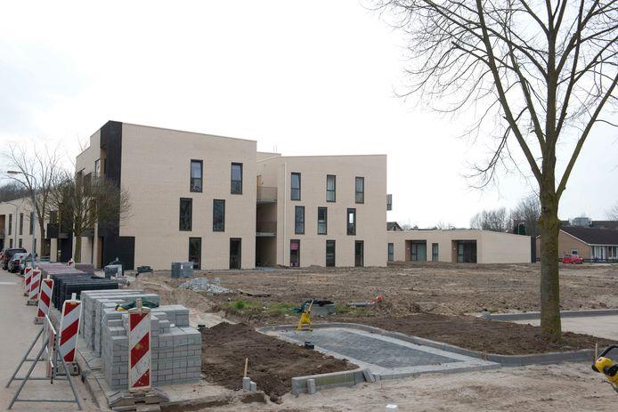 De reeds bestaande nieuwbouw aan de Allardhof in Buren