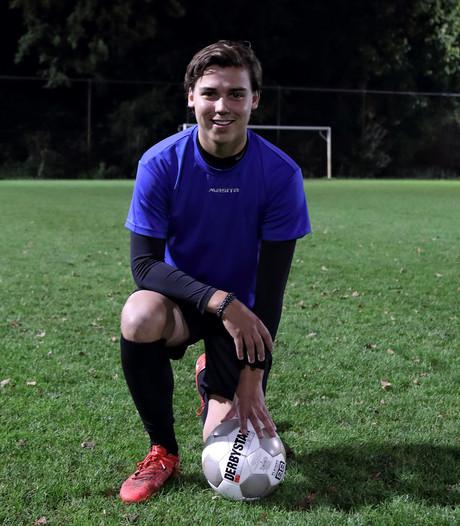 Lucas Sanders heeft voetbalgeluk hervonden bij Alliance
