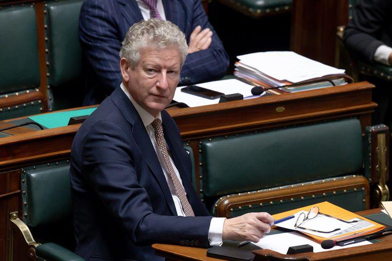 Ontslagnemend minister van Binnenlandse Zaken en Veiligheid Pieter De Crem (CD&V).  Beeld BELGA
