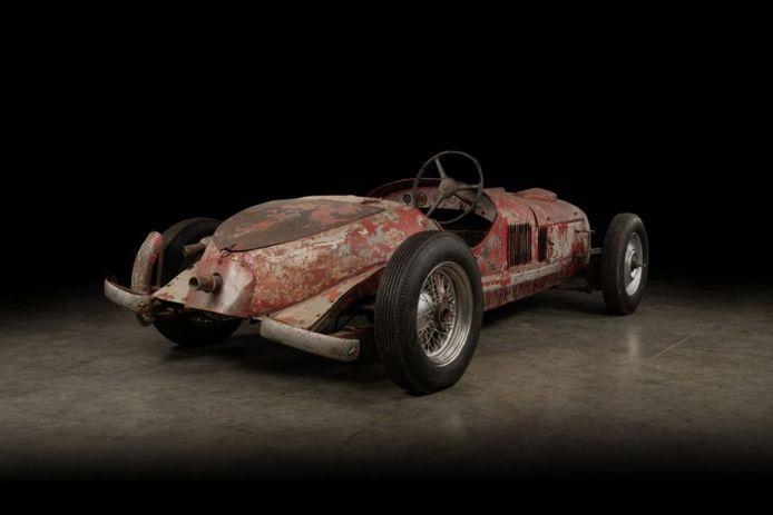 De Alfa Romeo 6C racewagen