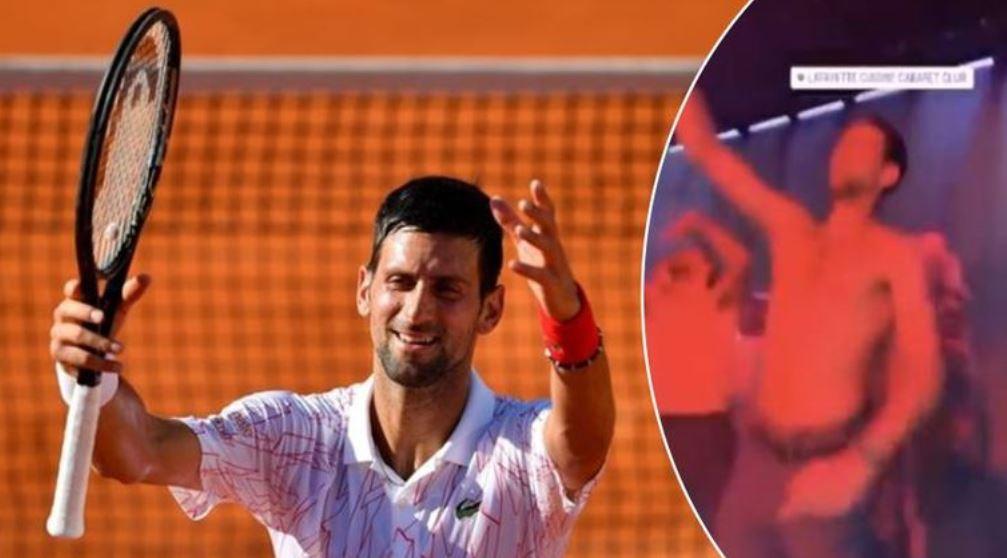 Novak Djokovic et les autres joueurs avaient participé à une soirée en boîte de nuit en marge du tournoi