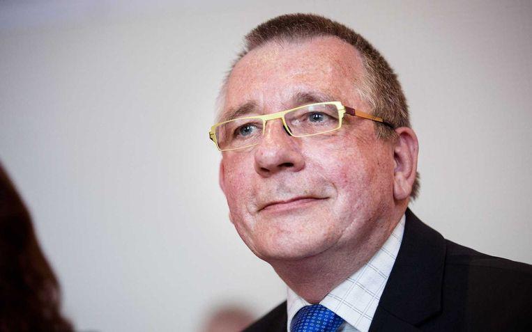 Lijsttrekker voor de SP-kandidatenlijst voor Europa, Dennis de Jong. Beeld anp
