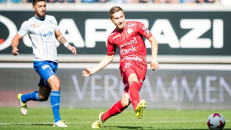 Saponjic scoorde al na 2 minuten de enige goal van de namiddag.