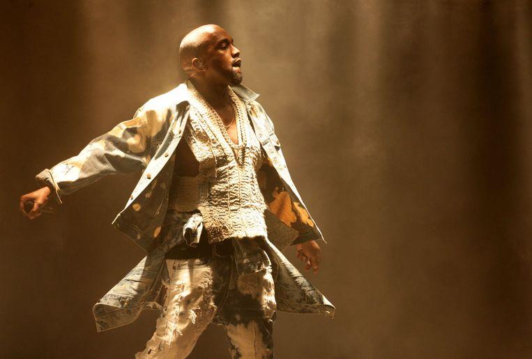 De rechten op de Kanye West-hit 'All of the lights' werden voor 27.700 dollar geveild.  Beeld Photo News
