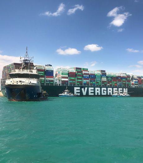 Egypte neemt blokkeerschip Suezkanaal in beslag om kostenpost van ruim 900 miljoen