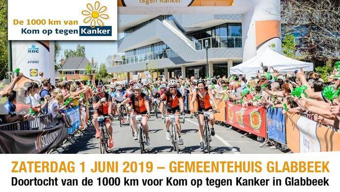 De renners komen zaterdag door Glabbeek.