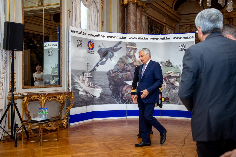 Minister van Defensie Didier Reynders (MR). Beeld BELGA