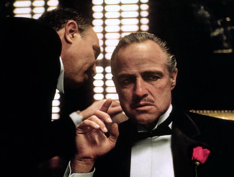Marlon Brando in The Godfather.  Beeld Alamy Stock Photo