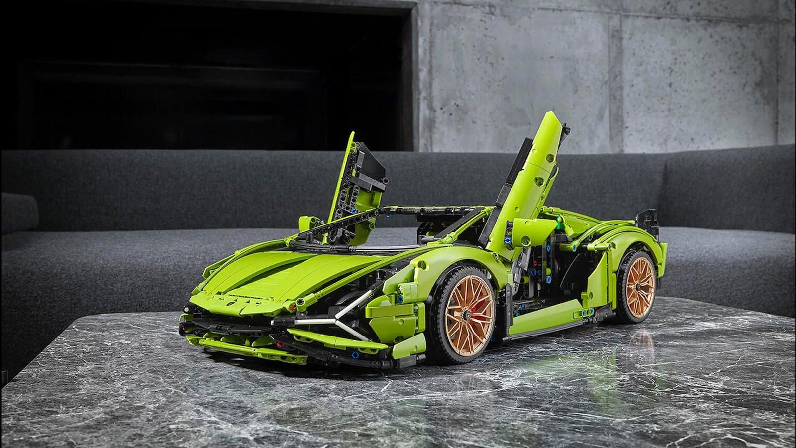 Le Lego-Lamborghini Sián FKP 37 Technic.