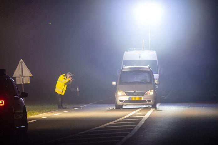 De nu opgepakte Ali Z. en zijn broer Emin Z. werden in 2016 beschoten op de Wijheseweg net buiten Zwolle.