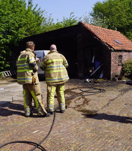 Brandweer krijgt verkeerde adres door bij brand in Bunschoten