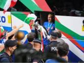 Une joie immense et Chiellini avec une couronne sur la tête: les Italiens accueillis comme des rois à Rome