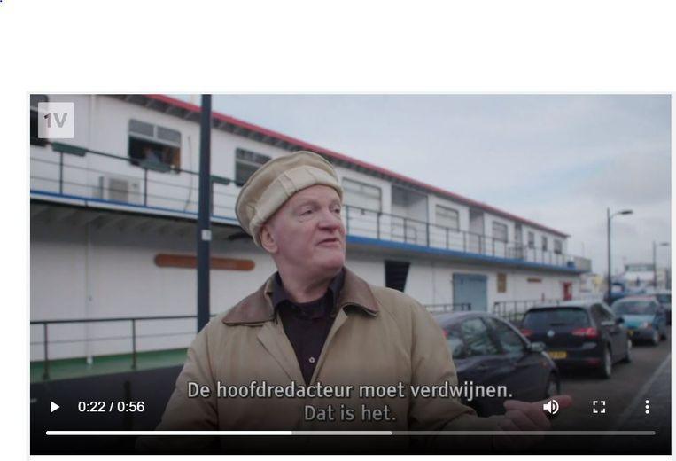 Arnold Karskens met pakol. Beeld EenVandaag.