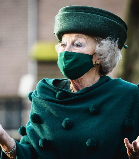 Eerste digitale optreden voor prinses Beatrix