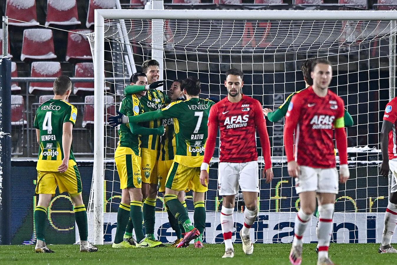 Michiel Kramer zette ADO nog op 0-1.