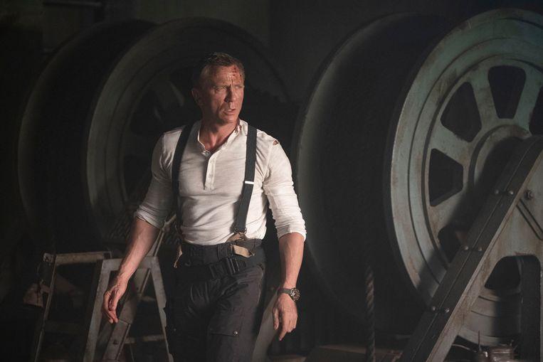 Daniel Craig zag zijn laatste Bondfilm begin maart al uitgesteld worden tot november – de eerste film in een lange reeks van 'voorlopig' uitstel.  Beeld Nicola Dove